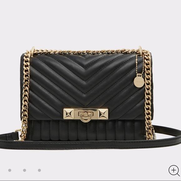 849eefc6473 Aldo Handbags - Aldo Abilaniel black faux leather cross body bag